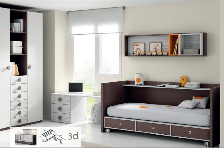 Cuna convertible en cama – modelos – inversión 2×1