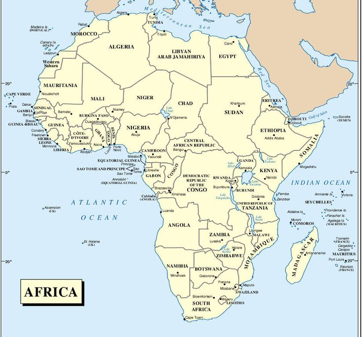 58 best Maps Africa images on Pinterest | Maps, Africa and Cards