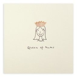 Pencil Shavings Card – Mother's Day Queen of Mums