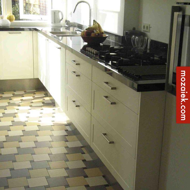 Mozaiek.com Utrecht – betaalpaar patroon dubbelhardgebakken tegels | windmill-pattern