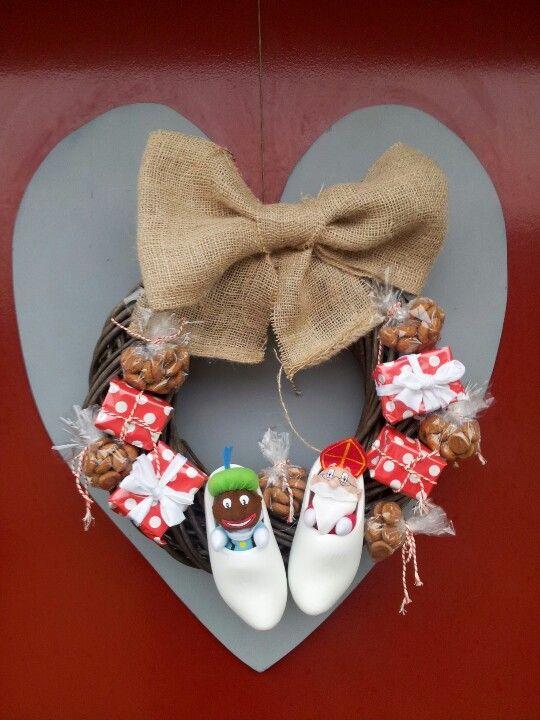 Sinterklaas krans