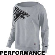 Atlanta Falcons Nike Women's Dri-FIT Epic Wildcard Long Sleeve T-Shirt
