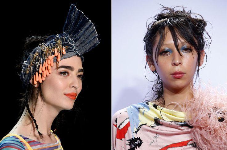 Ellas son Issa Lish y Cristina Piccone, dos jóvenesmodelos mexicanas que han llegado muy lejos en el mundo de la moda internacional, desfilando en las pas