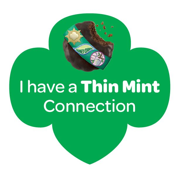 i have a thin mint connection girl scout cookies and