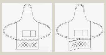 ZIP™ apron