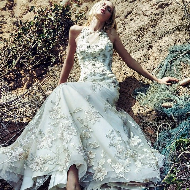Bitte besuchen Sie uns für eine Badgley Mischka Bridal Trunk Show vom 24. bis 26. April: J. del Olmo …   – Wedding dress scrapbook