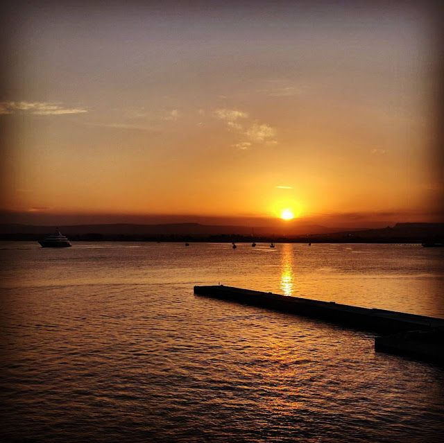 Road trip in Sicily - Sunset in Siracusa