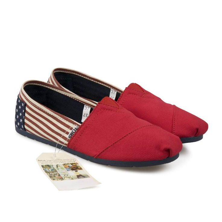 Toms Classics USA Banner Red Canvas Womens Shoes : Toms Outlet,Cheap Toms  Shoes Online, Welcome to Toms Outlet.Toms outlet provide high quality toms  shoes ...