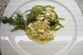 Grüne Nudeln mit Fenchel und Schafskäse (Rezept mit Bild) | Chefkoch.de