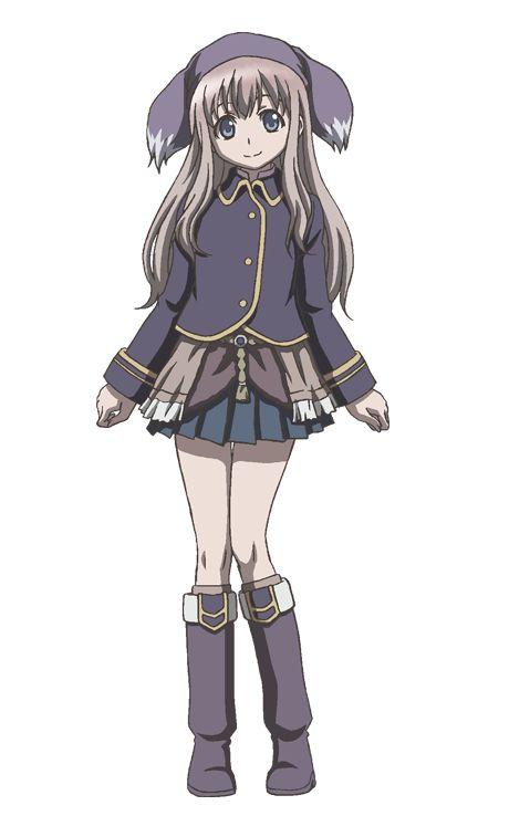 Kimiko Koyama como Ruu en el anime Shingeki no Bahamut: Manaria Friends