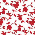 Red Fruits Shelf Paper by ChicShelfPaper.com