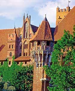 マルボルク城 ポーランド 旅行・観光の見所を集めました。