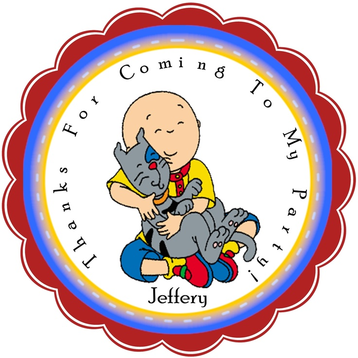 125 best caillou birthday party ideas images on Pinterest ...