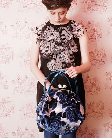 Love the dress AND the bag!