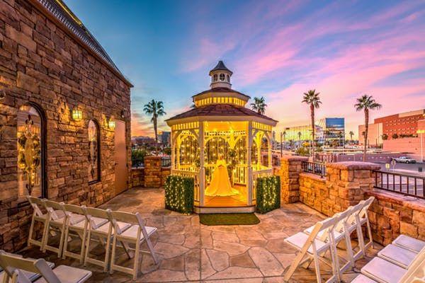 The Terrace Gazebo Is A Gorgeous Outdoor Wedding Venue In Las Vegas At Vegas Weddings Las Vegas Wedding Venue Las Vegas Wedding Packages Gazebo Wedding