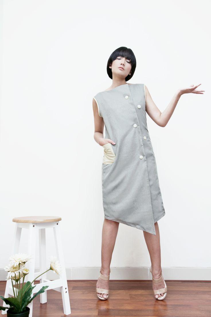 Mode Tweed Dress