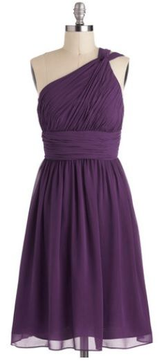Cute bridesmaid dress!!! different color though.. im not much for purple  ~logantayla0417~