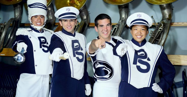 The Penn State Blue Band, recognized as one of the nation's finest college marching bands, wows capacity crowds in Beaver Stadium, home of Penn State Nittany Lion football.