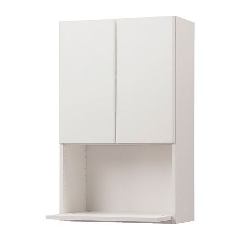 Ikea Kitchen Microwave Cabinet: AKURUM Wall Cabinet For Microwave Oven IKEA The Door Can