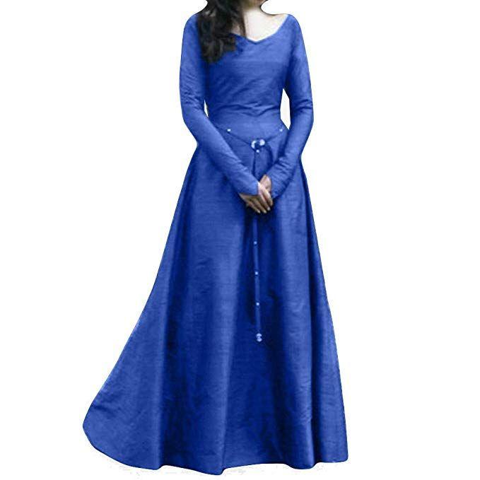 1b6b70be1023 Faldas Mujer, Zolimx Mujer Medieval Vestido de Renacimiento en Forma ...