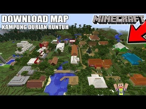 DOWNLOAD MAP KAMPUNG DURIAN RUNTUH EPISODE 2 | Minecraft Maps | Map