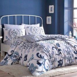 TAC Luciana albastru - Lenjerie de pat din bumbac satinat 2 persoane - bumbac satinat de calitate superioara - tesatura satin pentru un plus de luciu si finete - culori si imprimeuri deosebite - material 100% natural care lasa pielea sa respire http://www.asternuturisiprosoape.ro/tac-luciana-albastru-lenjerie-de-pat-din-bumbac-satinat-2-persoane.html  #lenjeriidepat #lenjeriitac #tac #lenjeriidepattac
