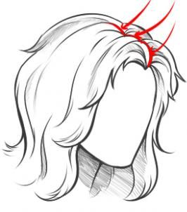 How to Draw Long Hair, Step by Step, Hair, People, FREE Online Drawing Tutorial, Added by Dawn, November 29, 2010, 5:33:00 pm