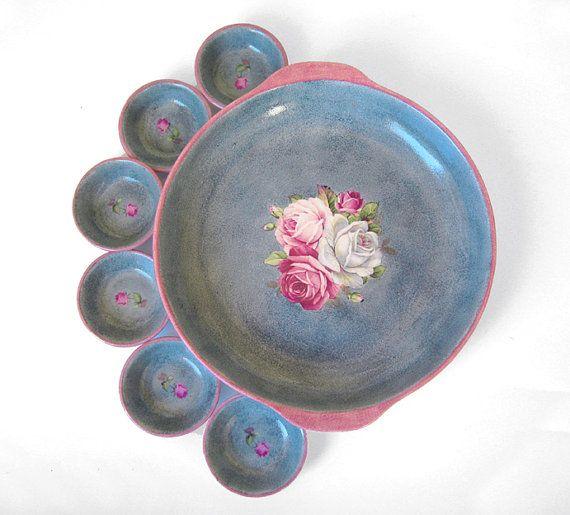 Ceramic Passover plate Passover Seder Plate by handpaintedceramic