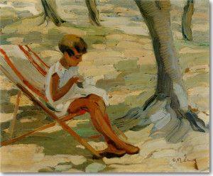 Όθων Περβολαράκης Όθων, Κεντάει, περ. 1930