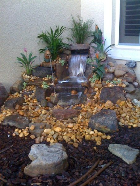 Pondless waterfall in a box google search backyard for Pond waterfall spillway ideas