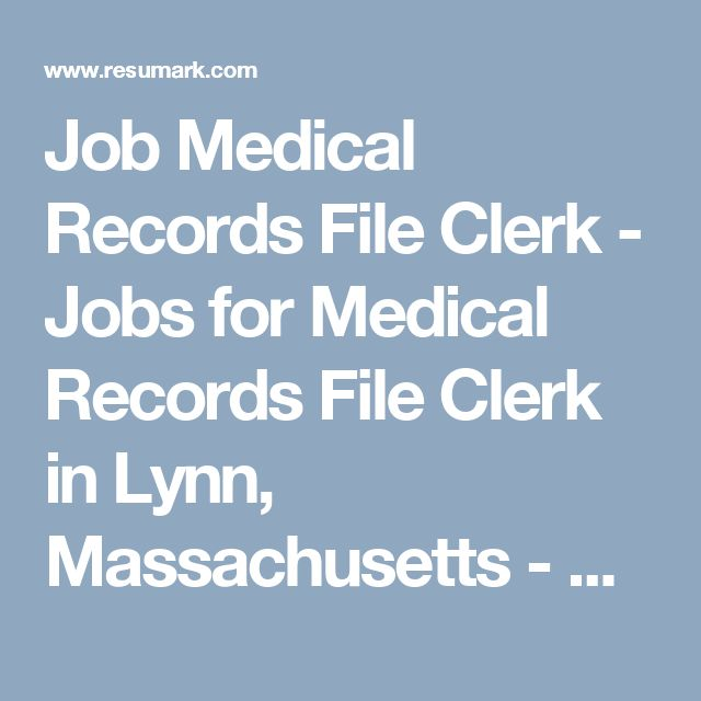 25+ unique Clerical jobs ideas on Pinterest Job list, Work at - medical records job description