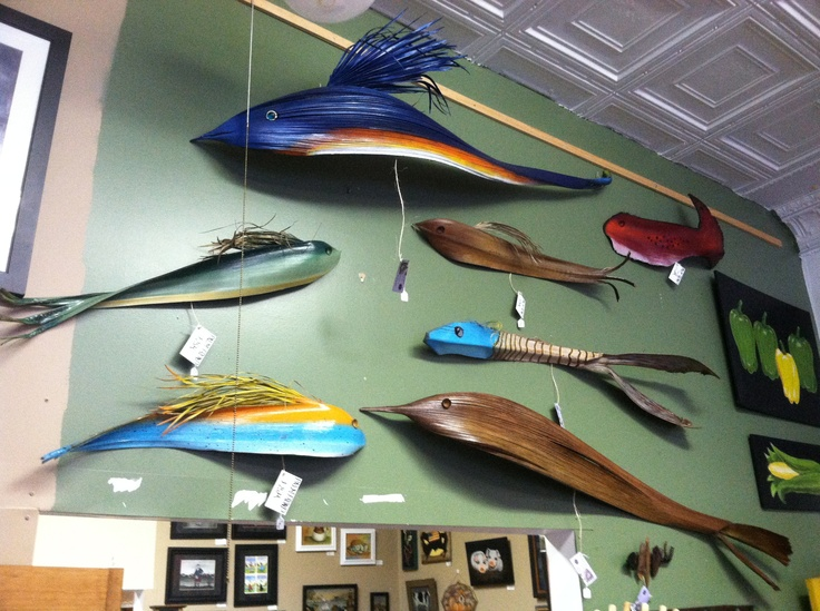 Palm frond fish