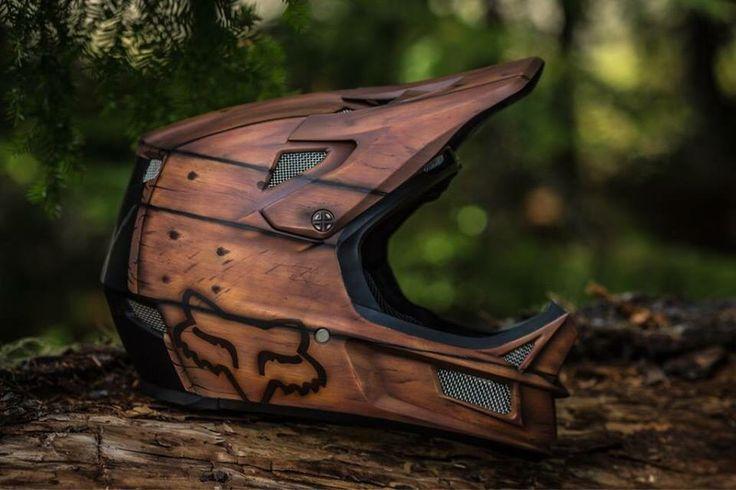 Sick custom painted Fox helmet! Must have!