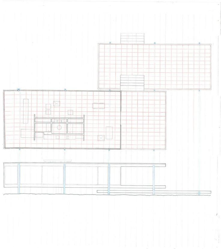 Best 25 Farnsworth house plan ideas on Pinterest