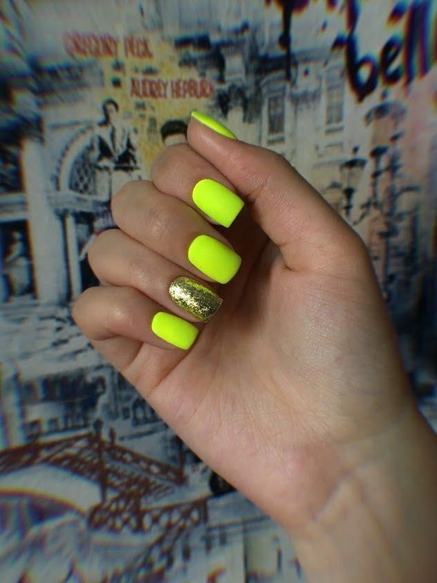 30 Ideas Which Nail Polish To Choose In 2020 Neon Green Nails