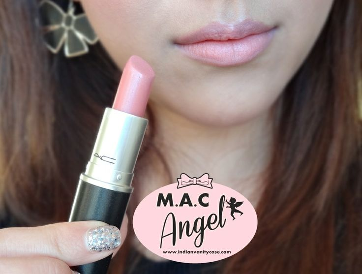MAC Angel Lipstick... My favorite everyday lipstick.