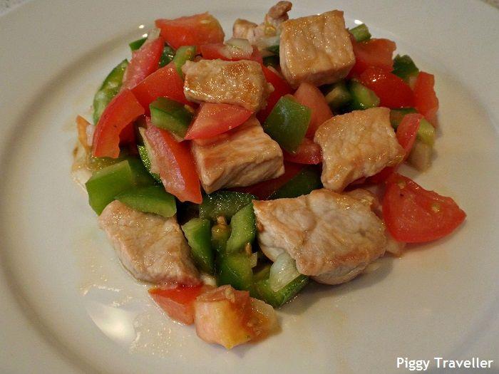 Jerimoje summer salad. http://www.piggytraveller.com/blog/2015/07/22/jerimoje-summer-salad-extremadura/