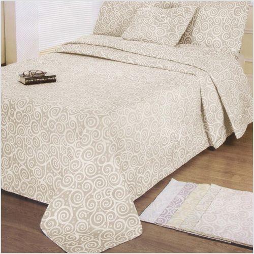 """Narzuta """"Artistico"""" Elegancka, wytłaczana narzuta na łóżko. W całości jest ozdobiona ładnym, geometrycznym wzorem. Idealnie wpasuje się w każdy, zarówno nowoczesny jak i klasyczny wystrój sypialni."""