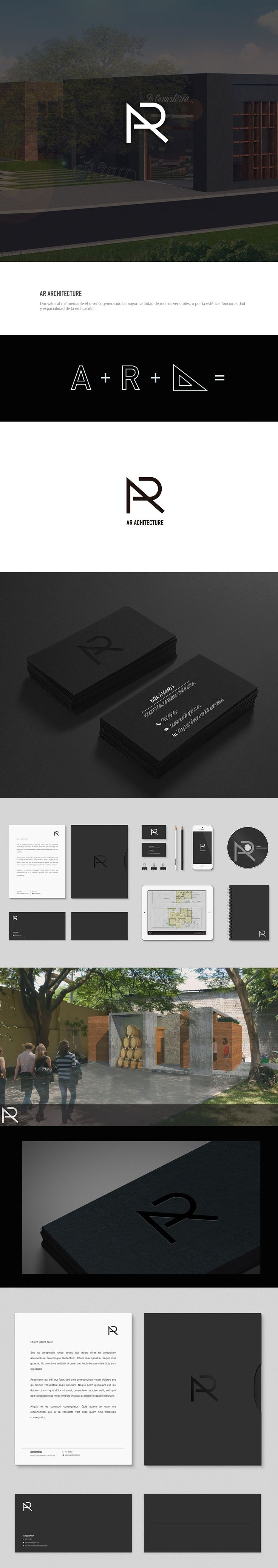 AR Architecture Branding on Behance