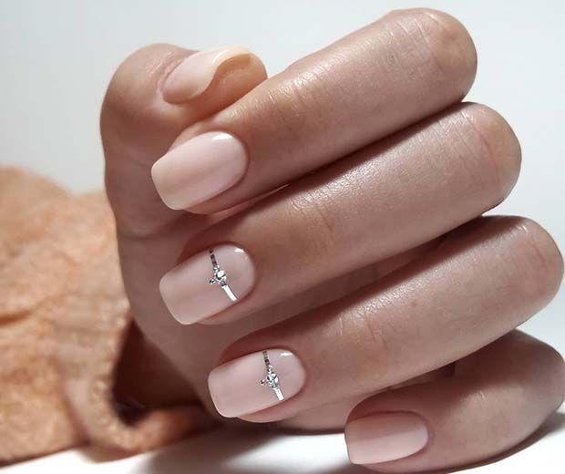 Beautiful Inspiring Nail Art Designs For Short Nails 35 In 2020