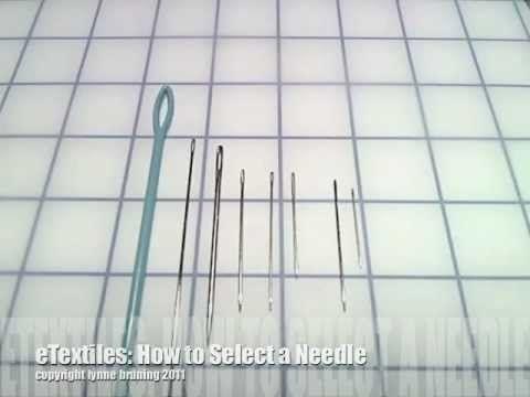 Lynne Bruning series of videos on working with e textiles
