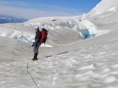 Cerro Tronador, paraíso de los montañistas