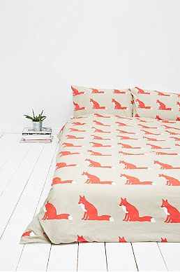 Anorak Fox Duvet Set