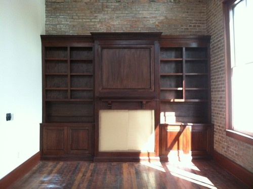cabinets traditional bookcases cabinets and computer armoires new orleans randy johnson custom