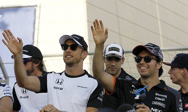 Jenson Button fails to start Bahrain Grand Prix #DailyMail