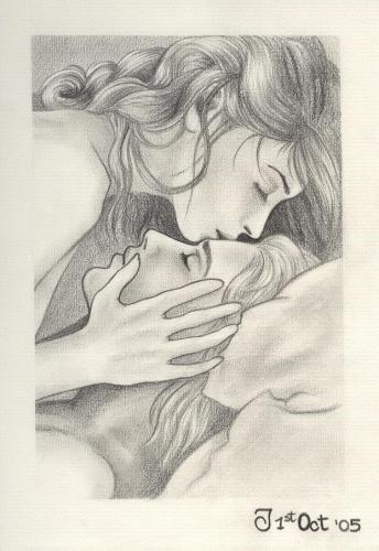 dibujos-a-lapiz-de-parejas-enamoradas