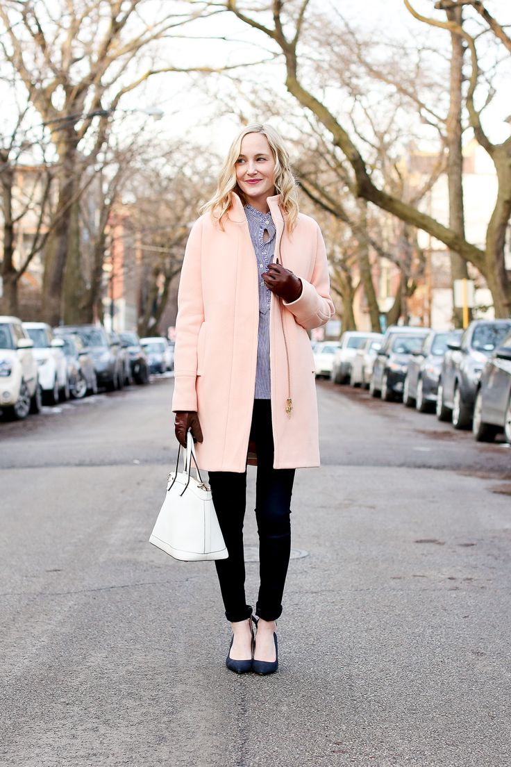 The Sweetest Light Pink Coats By Kelly In The City