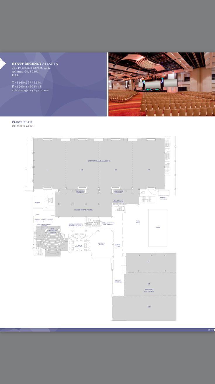 21 best atlanta venue floor plans images on pinterest floor atlanta hyatt regency hotel floor plan ballroom level atlanta ga 2017