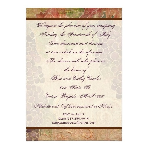 1000 images about italian themed wedding shower on for Italian bridal shower invitations