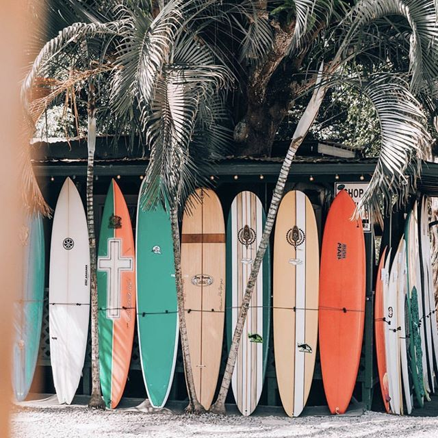 Colors Of Haleiwa Via Derekflodmand Surflinehawaii Inspo Inspiration Surfboards Northshore Oahu Haleiwa Hilife Beach Aesthetic Surfing Pictures